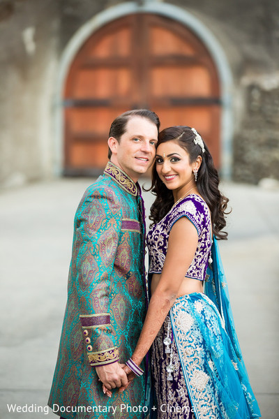 Portraits in Livermore, CA Hindu-Christian Fusion Wedding by Wedding Documentary Photo + Cinema