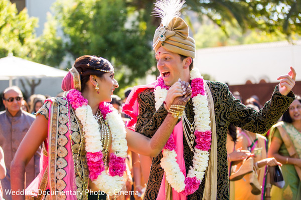 Ceremony in Livermore, CA Hindu-Christian Fusion Wedding by Wedding Documentary Photo + Cinema