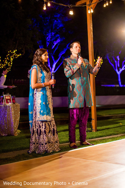 Reception in Livermore, CA Hindu-Christian Fusion Wedding by Wedding Documentary Photo + Cinema