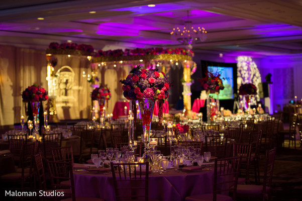 Floral & Decor in Tysons Corner, VA Indian Wedding by Maloman Studios