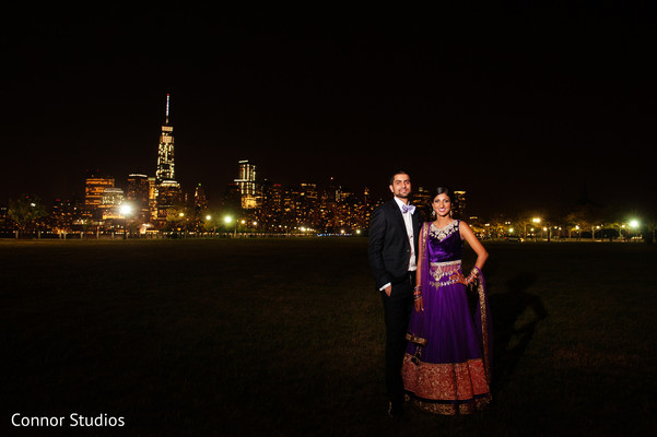 Portraits in New York, NY Indian Wedding by Connor Studios