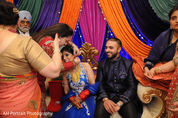 Pre-Wedding Celebration in Forest Hill, NY Sikh Wedding by AH Photography