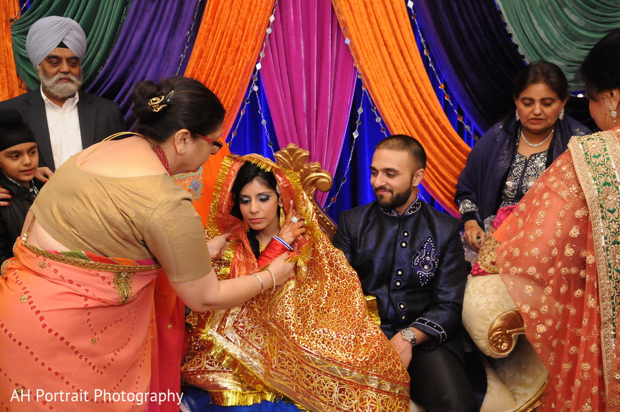 Pre Wedding Celebration In Forest Hill NY Sikh Wedding By AH Photography