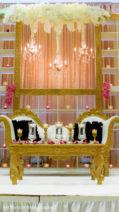 Floral & Decor in Forest Hill, NY Sikh Wedding by AH Photography