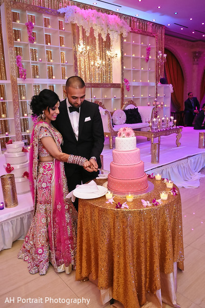 Reception in Forest Hill, NY Sikh Wedding by AH Photography