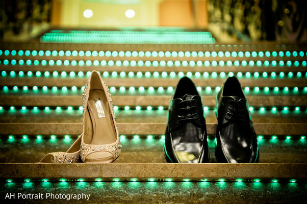 Shoes in Forest Hill, NY Sikh Wedding by AH Photography