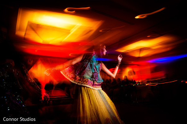 Sangeet in New York, NY Indian Wedding by Connor Studios