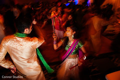 The sangeet takes place.