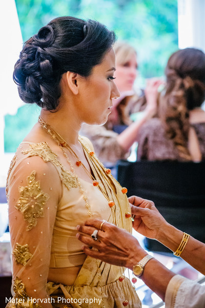 Getting Ready in San Diego, CA  Sri Lankan - Tibetan Wedding by Matei Horvath Photography