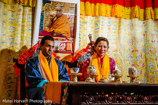 Ceremony in San Diego, CA  Sri Lankan - Tibetan Wedding by Matei Horvath Photography