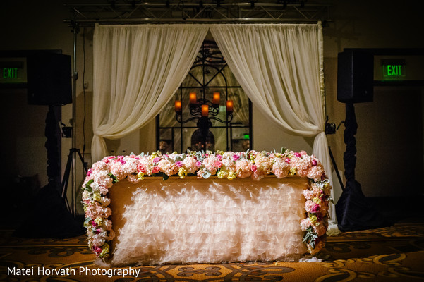 Reception Decor in San Diego, CA  Sri Lankan - Tibetan Wedding by Matei Horvath Photography