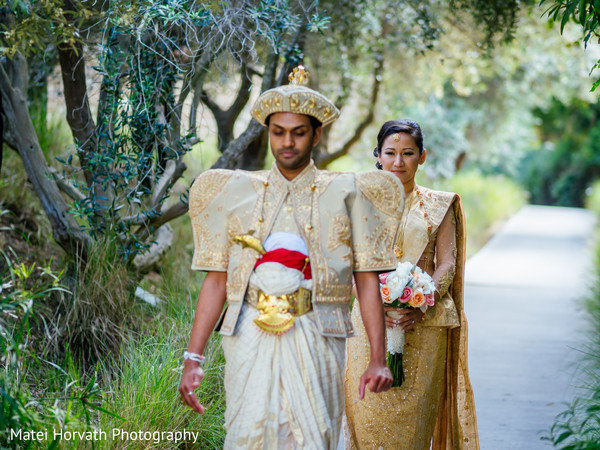 Portraits in San Diego, CA  Sri Lankan - Tibetan Wedding by Matei Horvath Photography