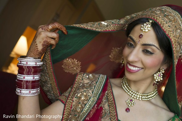 Getting Ready in Dearborn, MI Indian Wedding by Ravin Bhandari Photography