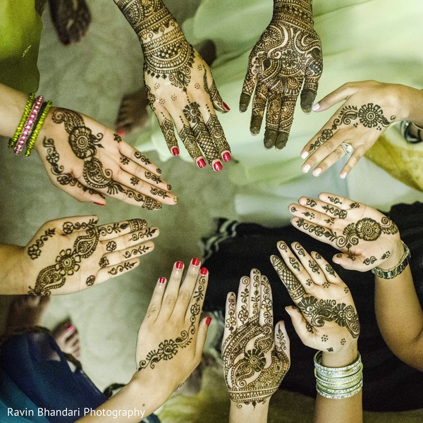 Mehndi Party in Dearborn, MI Indian Wedding by Ravin Bhandari Photography