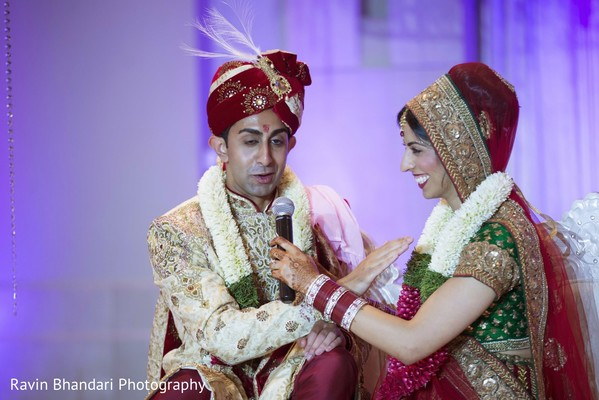 Ceremony in Dearborn, MI Indian Wedding by Ravin Bhandari Photography