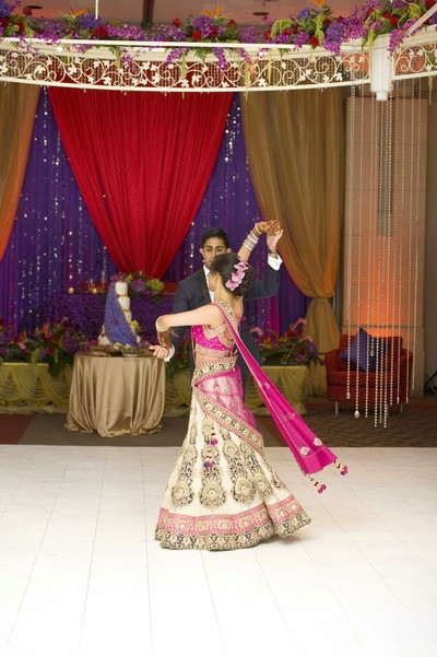 Reception in Dearborn, MI Indian Wedding by Ravin Bhandari Photography