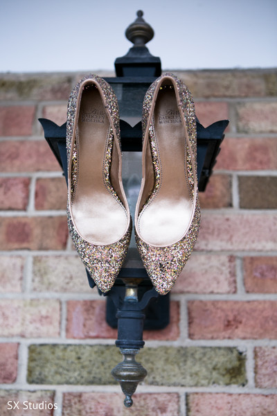 Shoes in Woodbury, NY Indian Wedding by SX Studios