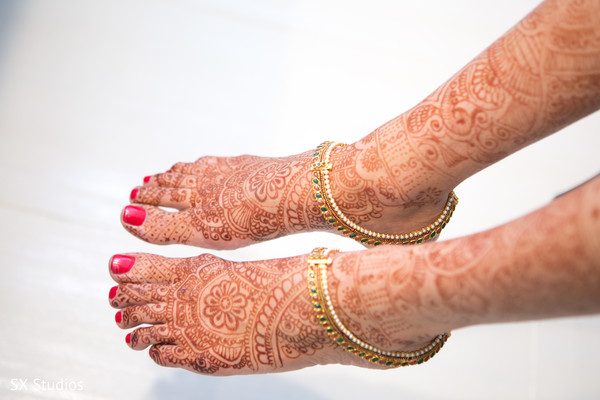 Mehndi in Woodbury, NY Indian Wedding by SX Studios