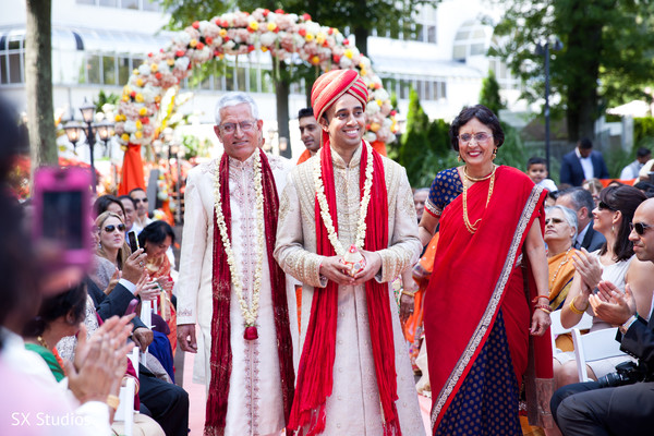 Ceremony in Woodbury, NY Indian Wedding by SX Studios