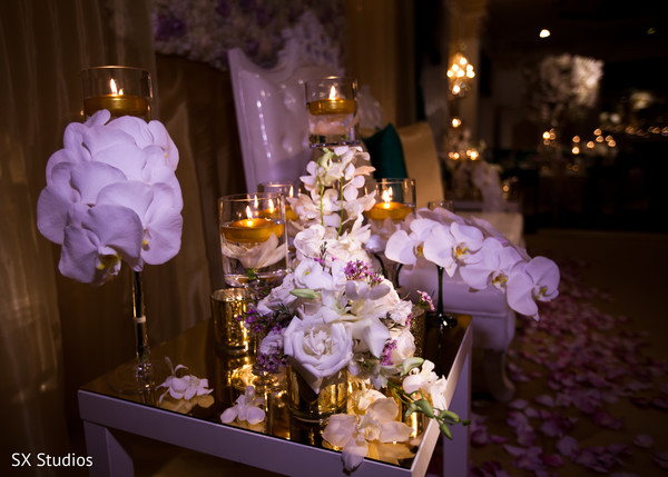 Floral & Decor in Woodbury, NY Indian Wedding by SX Studios