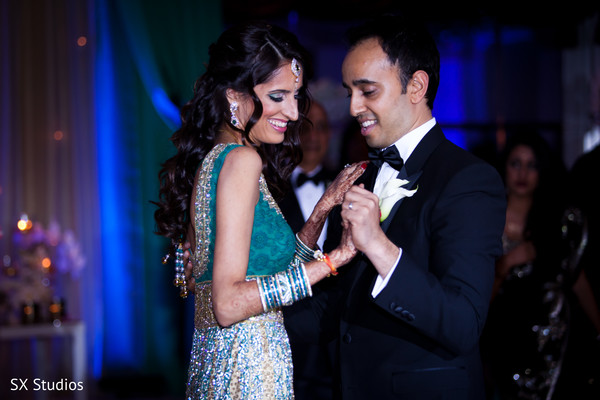 First Dance in Woodbury, NY Indian Wedding by SX Studios