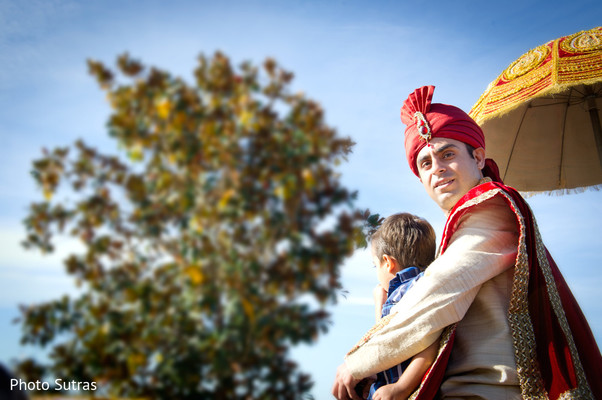 Baraat in San Jose, CA Indian Wedding by Photo Sutras