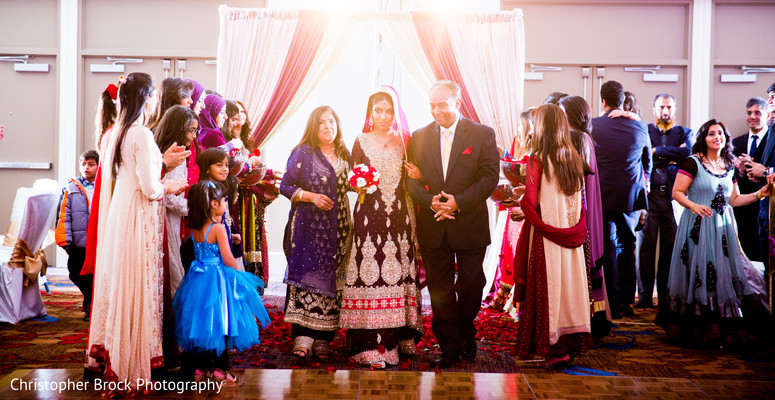Ceremony in Atlanta, GA South Asian Wedding by Christopher Brock Photography