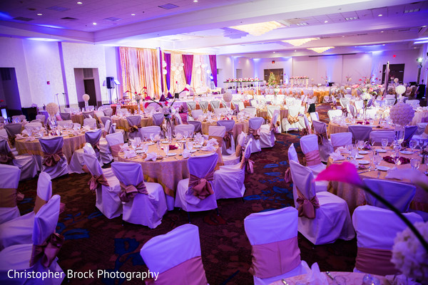 Floral & Decor in Atlanta, GA South Asian Wedding by Christopher Brock Photography