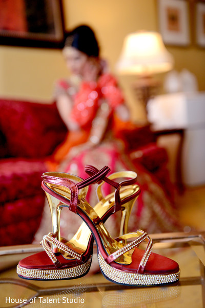 Getting Ready in Long Island, NY Indian Wedding by House of Talent Studio