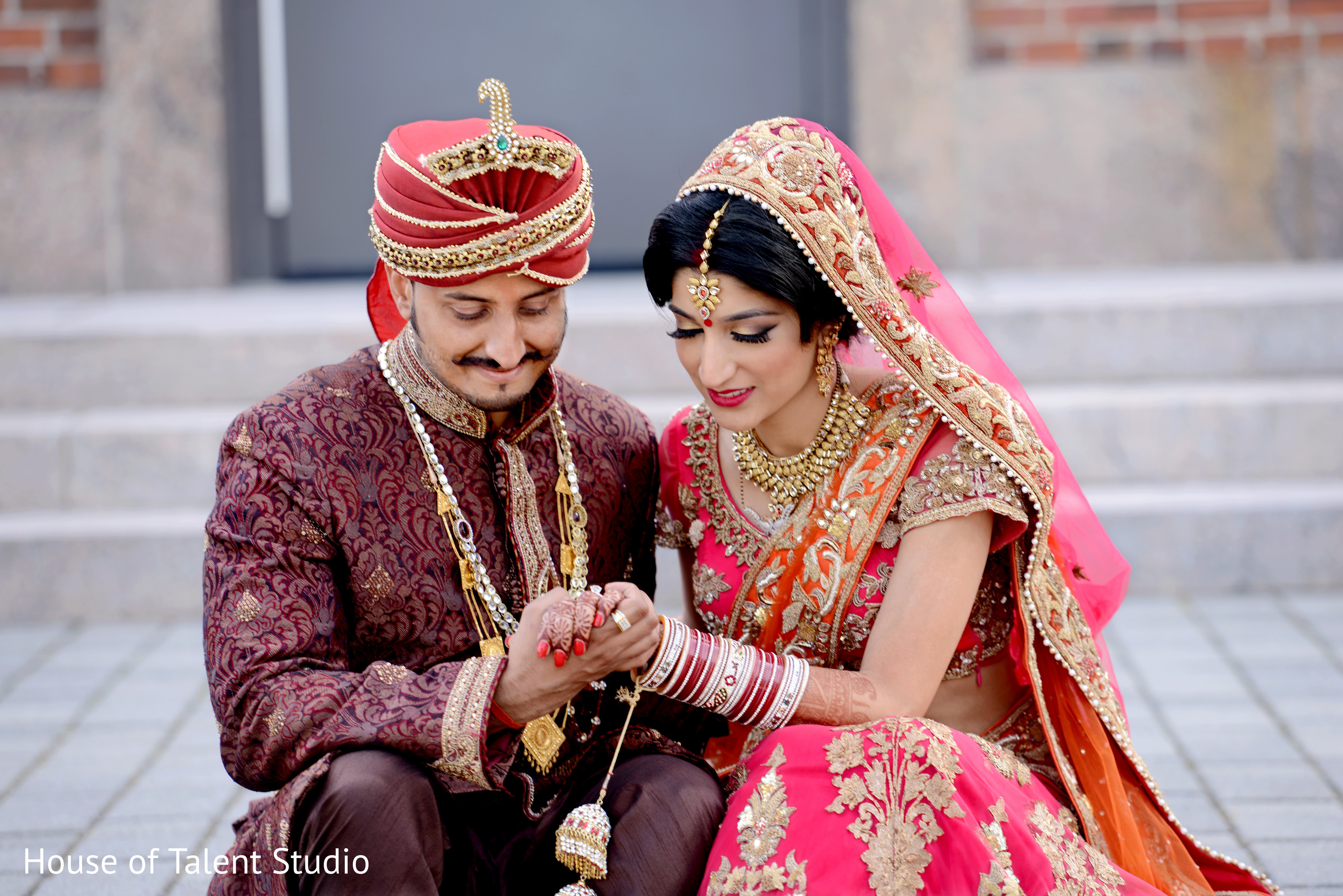 Wedding Photography Indian Wedding: Portraits In Long Island, NY Indian Wedding By House Of