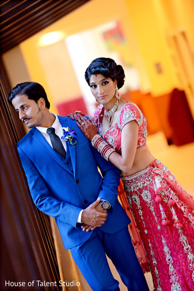 Portraits in Long Island, NY Indian Wedding by House of Talent Studio