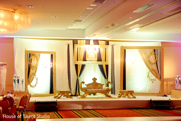 Reception in Long Island, NY Indian Wedding by House of Talent Studio
