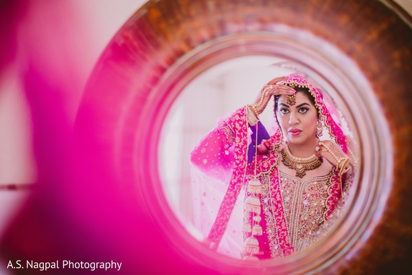 Getting Ready in Easton, PA Indian Wedding by A.S. Nagpal Photography