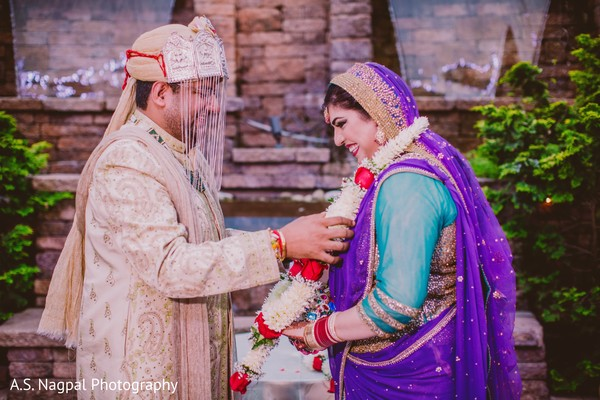 Ceremony in Easton, PA Indian Wedding by A.S. Nagpal Photography
