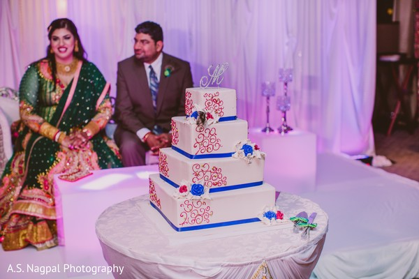 Reception in Easton, PA Indian Wedding by A.S. Nagpal Photography