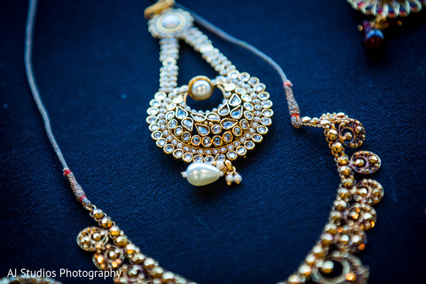 Bridal Jewelry in Buena Park, CA Sikh Wedding by AJ Studios Photography