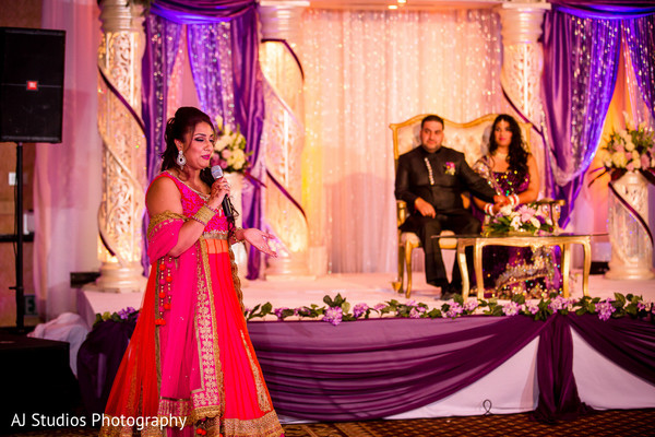 Reception in Buena Park, CA Sikh Wedding by AJ Studios Photography