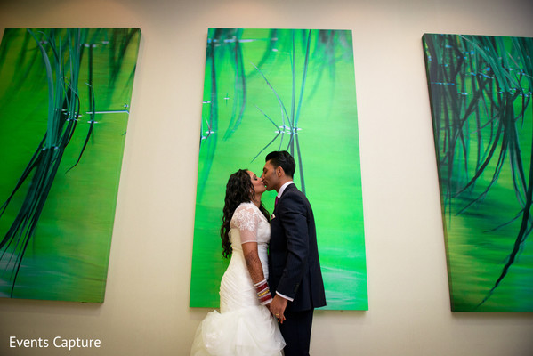 Wedding Portrait in Bridgewater, NJ Indian Fusion Wedding by Events Capture