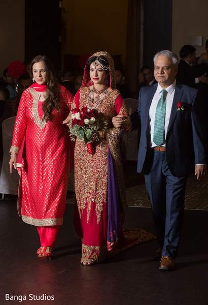 Ceremony in Ontario, Canada Pakistani Wedding by Banga Studios