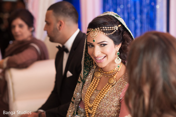 Reception in Ontario, Canada Pakistani Wedding by Banga Studios