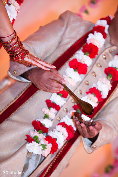 Ceremony in McLean, VA Hindu-Christian Wedding by SX Studios