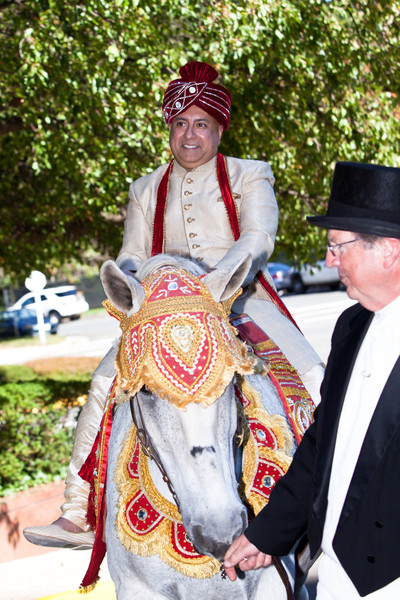 Baraat in McLean, VA Hindu-Christian Wedding by SX Studios