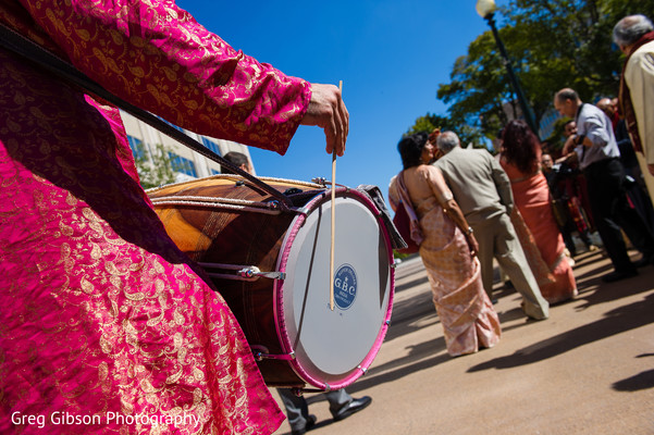 Baraat in Washington D.C. Indian Fusion Wedding by Greg Gibson Photography