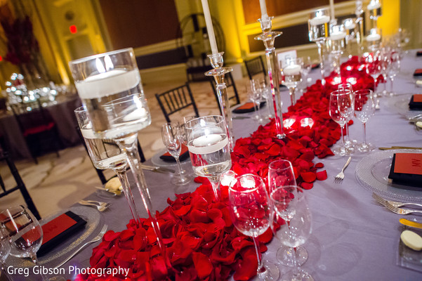 Floral & Decor in Washington D.C. Indian Fusion Wedding by Greg Gibson Photography