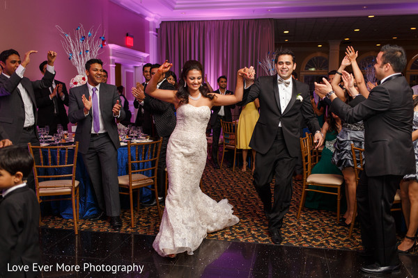 Reception in Hudson Valley, NY South Indian Fusion Wedding by Love Ever More Photography