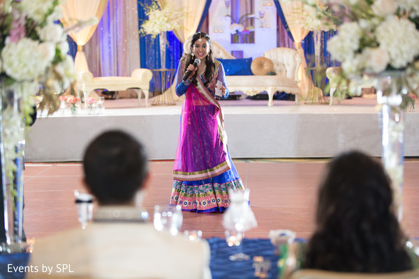 Reception in Atlanta, GA South Asian Wedding by Events by SPL