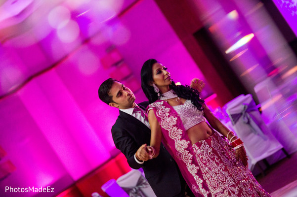 Reception in Jersey City, NJ Indian Wedding by PhotosMadeEz