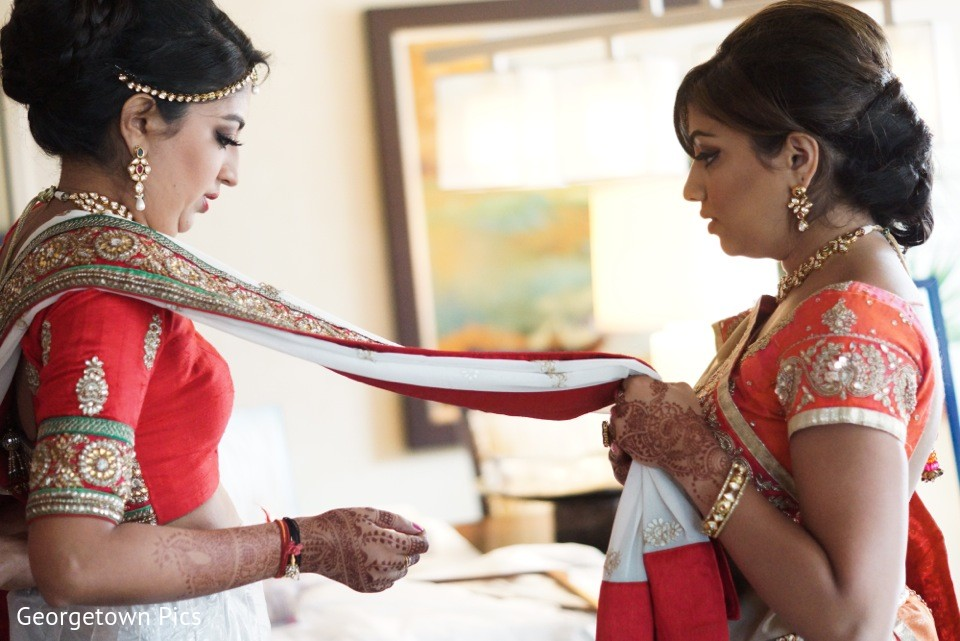Ceremony in alexandria va indian wedding by georgetown for Indian jewelry in schaumburg il