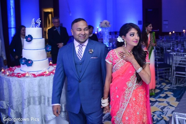 Reception in Alexandria, VA Indian Wedding by Georgetown Pics
