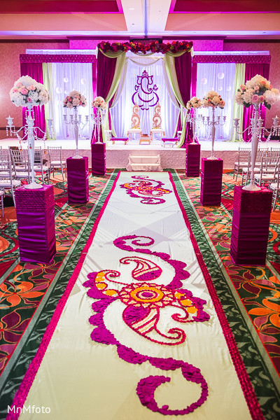 Floral & Decor in Dallas, TX Indian Wedding by MnMfoto